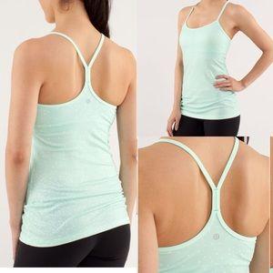 Lululemon Power Y Athletic Yoga Tank: Fresh Teal